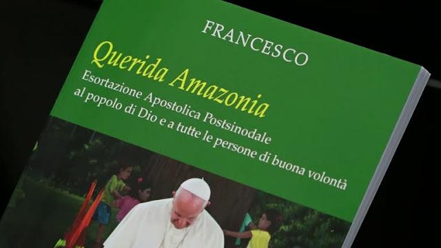 Paavi Franciscus. Querida Amazonia.