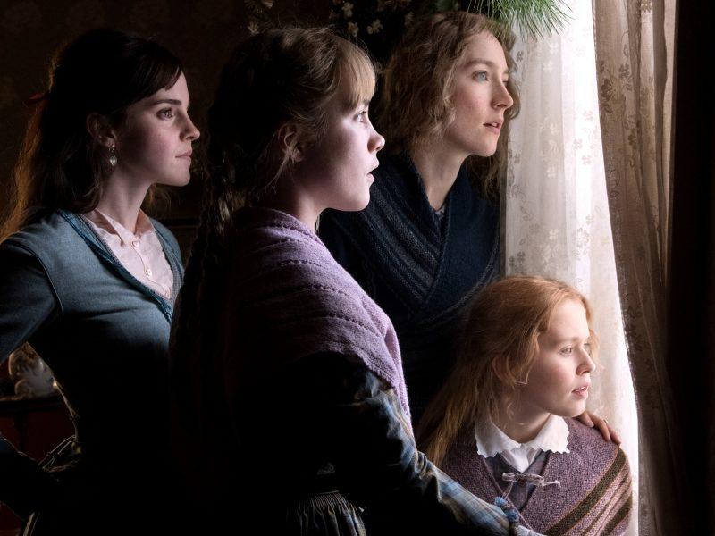 Emma Watson, Saoirse Ronan, Eliza Scanlen and Florence Pugh Pikku naisissa. Kuva: Filmikamari.