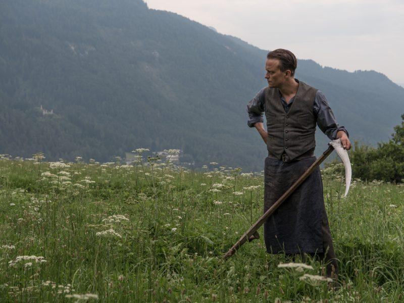 Franz Jägerstätteriä esittää August Diehl. Kuva: Filmikamari.