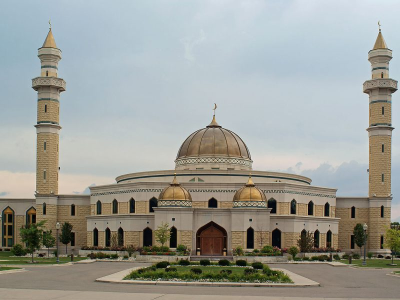 Islamic Center of America Dearbornissa Michiganissa. Kuva: Wikipedia.