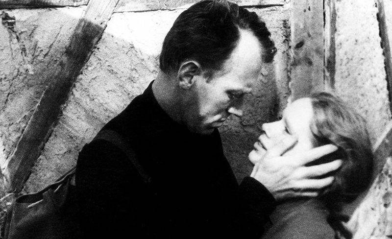 Suden hetken pääosissa ovat Liv Ullmann ja Max von Sydow. Kuva: Wikipedia.