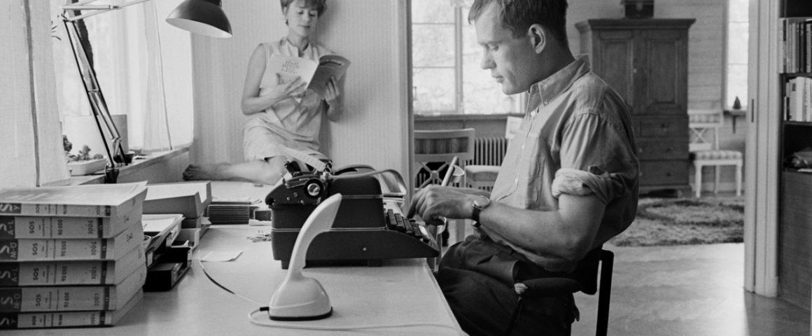 Harriet Andersson ja Jörn Donner vuonna 1964. Kuva: Gösta Glase.
