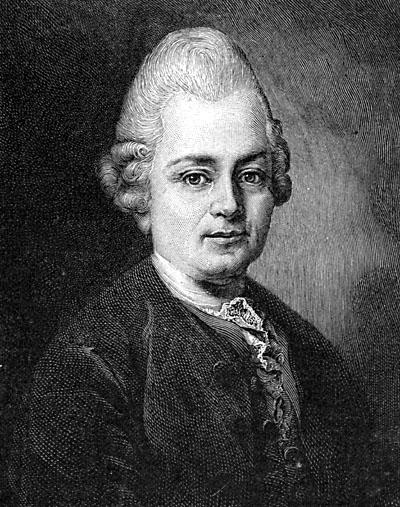 Gotthold Ephraim Lessing. Kuva: Wikipedia.