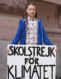 Greta Thunberg. Kuva: Wikipedia.