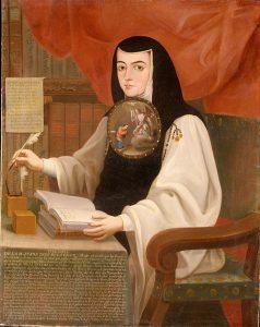 Sor Juana Inés de la Cruz (1772). Kuva: Wikipedia.