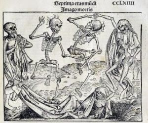 Musta surma taiteessa 1.