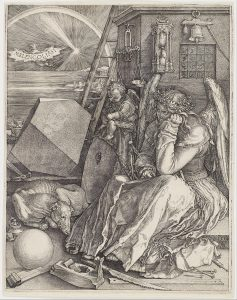 Albrecht Dürerin teos Melancolia I.