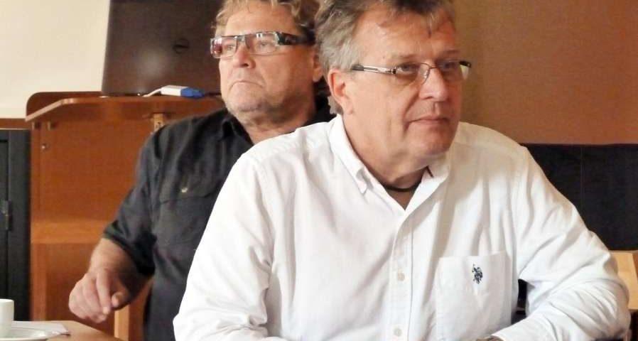 Jarmo Tarkki & Veli-Matti Kärkkäinen. Kuva: Sirkku Nyström/Kotimaa.