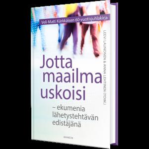 Veli-Matti Kärkkäisen juhlakirja.
