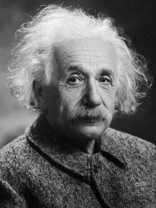 Albert Einstein. Kuva: Wikipedia.