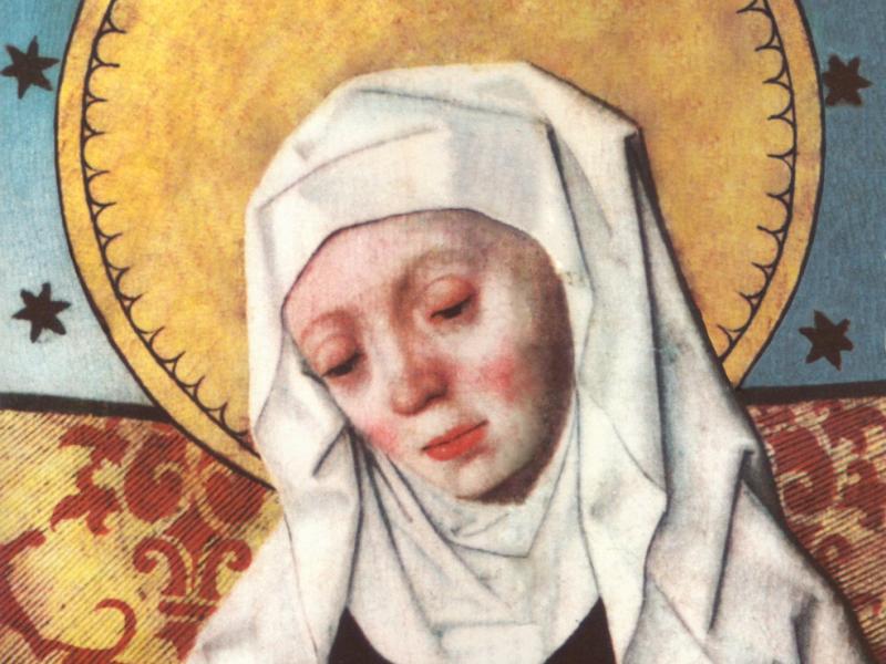 Pyhä Birgitta.