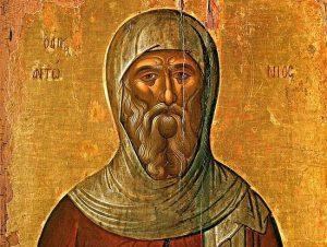 Pyhä Antonius Suuri.