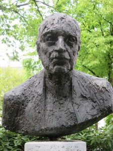 Rudolf Bultmannin pysti. Kuva: Wikipedia.