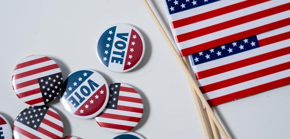 Yhdysvaltain vaalien materiaalia.