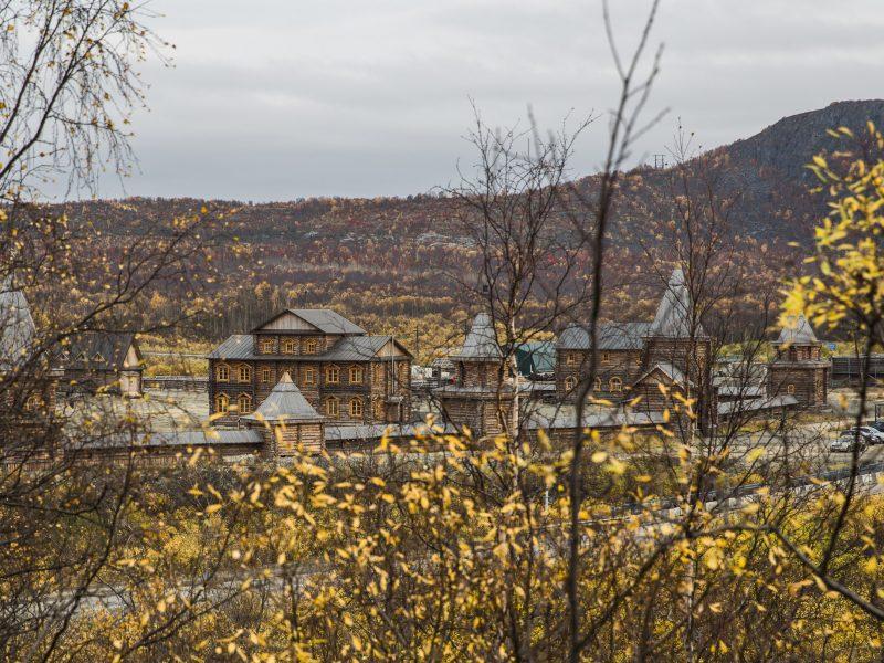 Petsamon luostari. Kuva: Wikipedia.