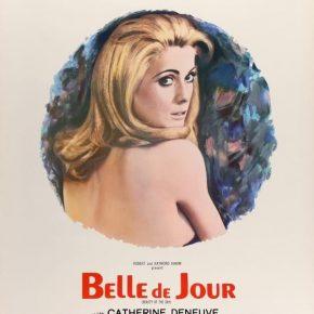 Belle de Jour -elokuvan mainosjuliste.