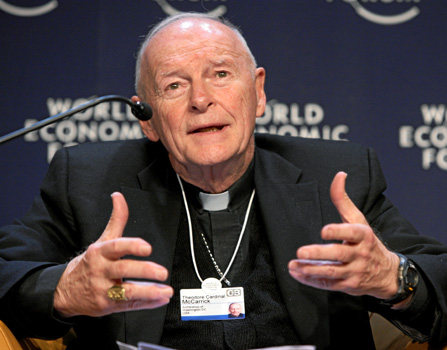 Kardinaali Theodore McCarrick. Kuva: Wikipedia.