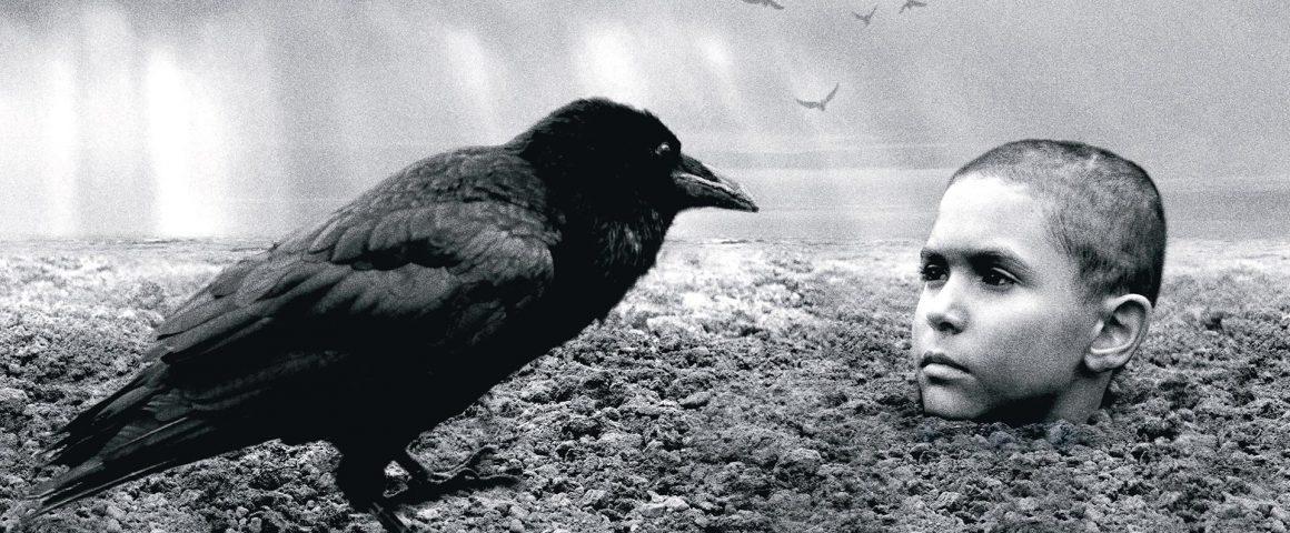 Kirjava lintu. Kohtaus elokuvasta.