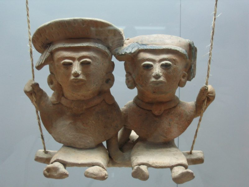 Veljellistä rakkautta ensimmäisen vuosituhannen Meksikosta. Kuva: Wikipedia.
