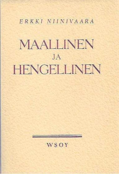 Erkki Niinivaaran Maallinen ja hengellinen -synodaalikirjalla on ollut merkittävä vaikutus suomalaiseen teologiseen keskusteluun.