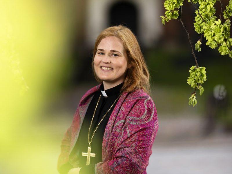 Piispa Mari Leppänen. Kuva: Jani Laukkanen.